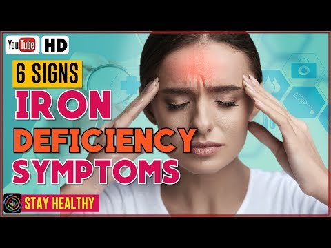 6 Signs And Symptoms Of Iron Deficiency You Should Know