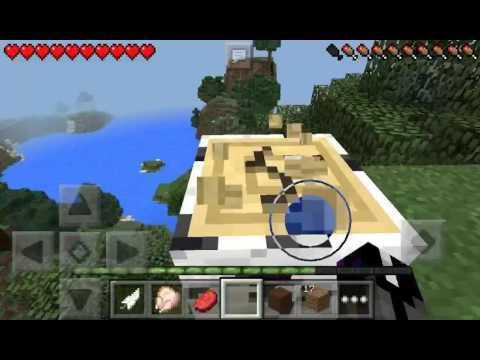 Minecraft PE sky island? 1
