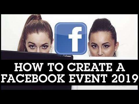 How to Create a Facebook Events Page 2019