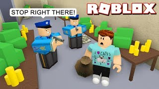 FAILED ROBBERY ATTEMPT IN ROBLOX JAILBREAK!