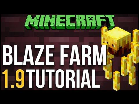 Minecraft: Blaze Farm 1.9 Tutorial (Blaze XP Farm)