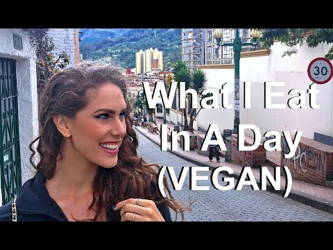 What I Eat In A Day Travel Edition! (Vegan In Colombia)