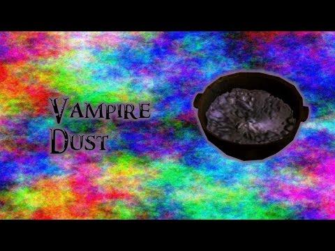 Skyrim Ingredient Breakdown Part 5: Vampire Dust