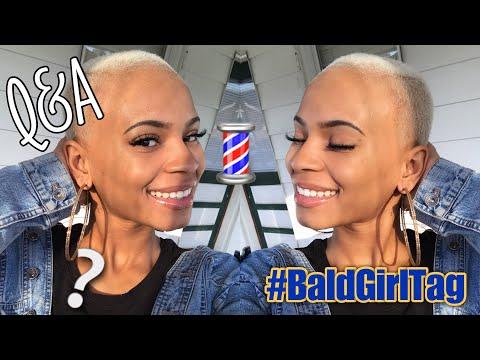 Baldie Q&A!! | #BaldGirlTag