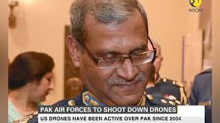 Pakistan Air Forces to shoot down drones