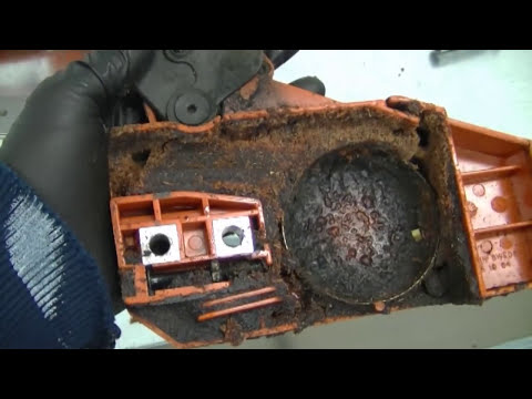 How To Clean a Chainsaw Bar