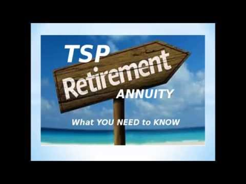 Thrift Savings Plan (TSP) WHY the Retirement Default Annuity is BAD MUST SEE!!!!