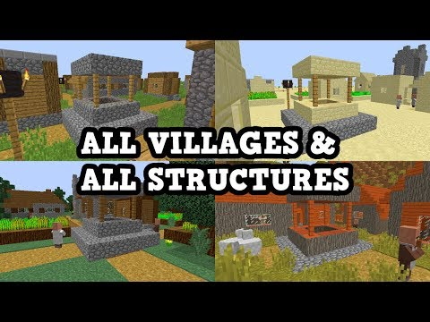 Minecraft Xbox 360 / PS3 - All Villages, Wood, More Seed