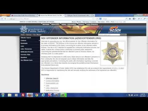 Official Arizona Public Records Search