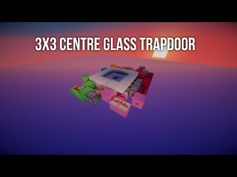 3x3 Centre Glass Trapdoor [Fast | Compact | Fully Synced]