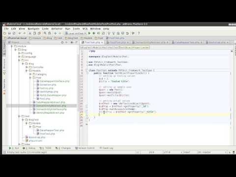 Zend Framework 2.1 tutorial 9: Unit Testing Domain Entity