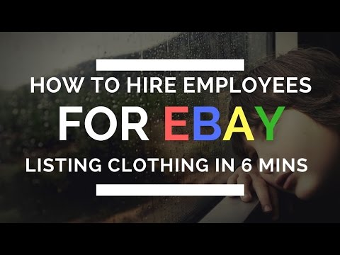 E57: How My Employees List Clothing on eBay in 6 Minutes