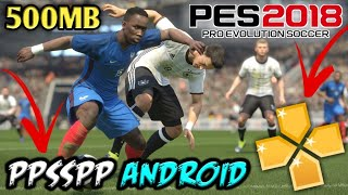PES 2018 Android Ppsspp Offline 1 1 GB Best Garphics (English/Hindi