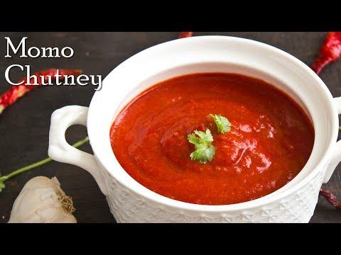 Momo Chutney – Hot & Spicy | How to Make Momos Chutney | No Oil Momo Chutney ~ The Terrace Kitchen
