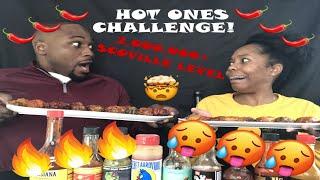 Download HOT ONES CHALLENGE 🔥🔥🔥 AND HOW WE MET!!! Video