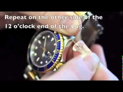 Find the Serial Number and Model Number on a Rolex