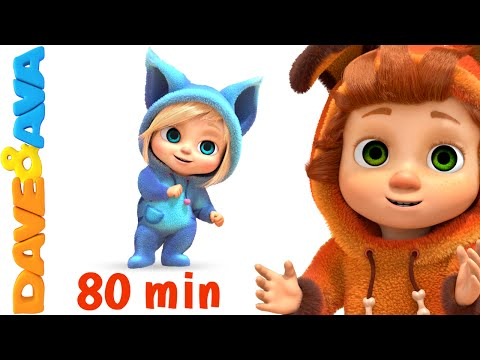 If You're Happy and You Know It | Nursery Rhymes Collection and Baby Songs from Dave and Ava