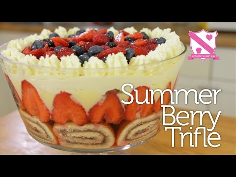 Summer Berry Trifle - In The Kitchen With Kate