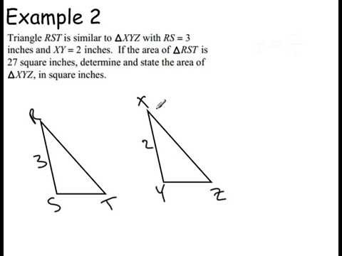 Similar triangles VI (Perimeter and area relationship)
