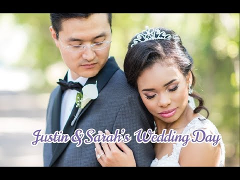 Wedding of Korean Groom & Blasian Bride