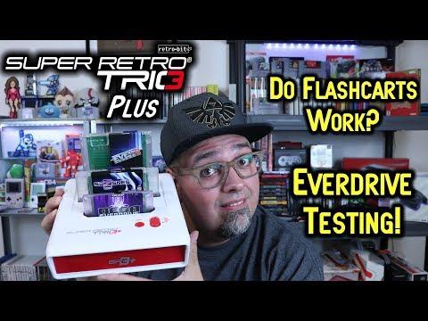 Does It Work? Retro-Bit Super Retro Trio Plus Everdrive Flashcart Test