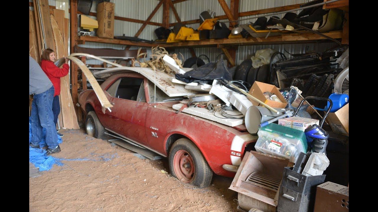 1967 SS 396 Camaro Barn Find Parked 43 Years