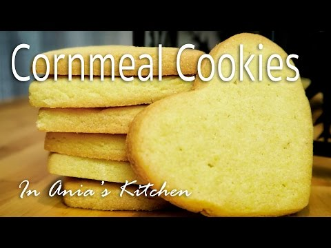 Valentine's Day Cornmeal Cookies - Ciasteczka Kukurydziane - Recipe #238