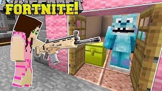 Minecraft: TRICK OR TREAT! - FORTNITE BATTLE ROYALE - Modded Mini-Game
