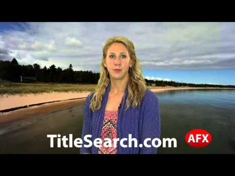 Property title records in Antrim County Michigan   AFX