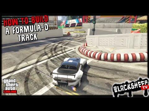 GTA 5 - How To Build A Professional Drift Track - Advanced Rockstar Creator Techniques
