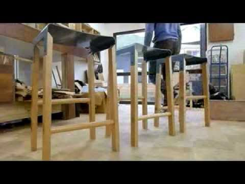 The making of a Composite Stool