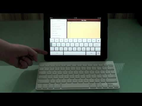 How to connect Apple Wireless Keyboard on iPad