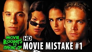 The Fast and The Furious (2001) movie mistake #1