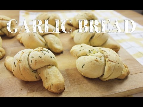 How to make Garlic Bread Knots | Savory Snack