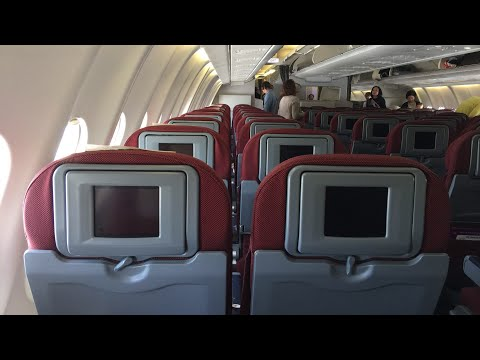 Qantas A330-200 Economy Class: QF117 Sydney to Hong Kong