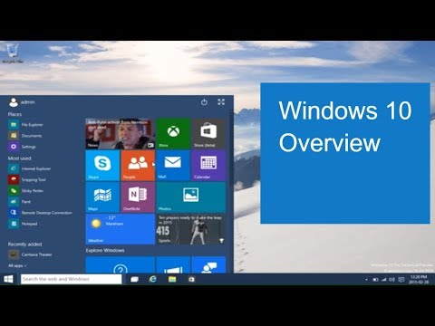 Windows 10 Overview