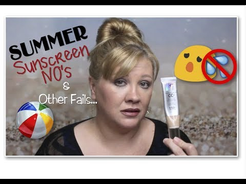✅🌞Summer Sunscreen Guide✔KNOWS & NO's for Melasma✔HOW THE SUN AGES YOU & YOUR SKIN✔Melasma Mayhem