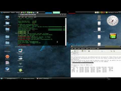 Arch Linux Grub2 Installation/Configuration