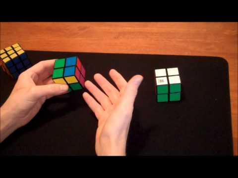 How to solve Rubik's 2x2 cube (Easy Method)