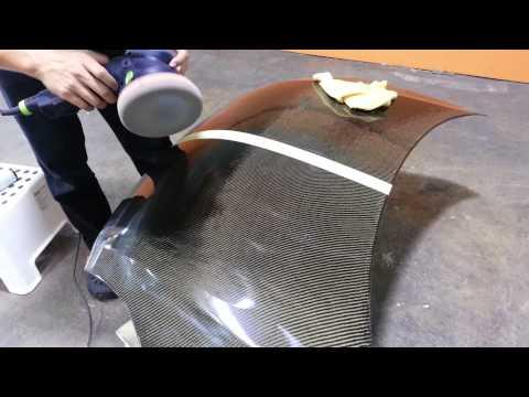 Restoration And Polish Of Carbon Fibre