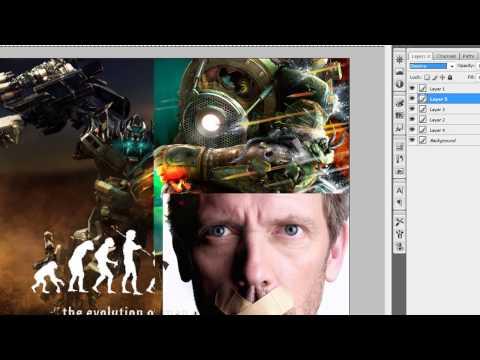 Adobe Photoshop CS3 | Crear un collage