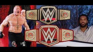 HUGE Brock Lesnar vs Jinder Mahal BACKSTAGE NEWS RAW VS. SMACKDOWN SURVIVOR SERIES 2017