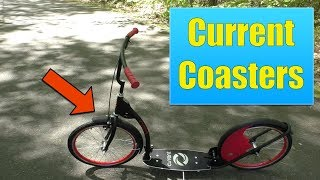 Current Coasters Review - Foldable Kickbike Scooter for Teens and Adults