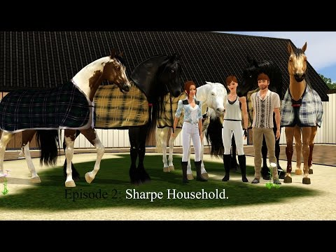 Ep 2: My current household | Sims 3 | Sharpe Household