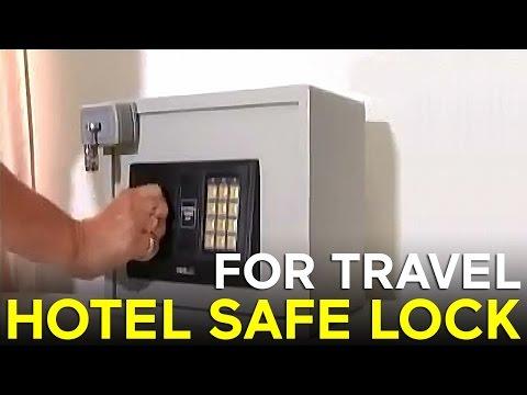 Milockie Hotel Safe Lock.flv
