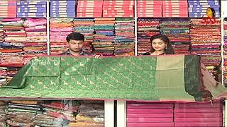 Superb Bottle Green Color Banarasi Saree | Hello Ladies | New Arrivals | Vanitha TV