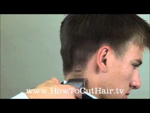 Taper Haircut - How To Blend Men's Hair With Clippers