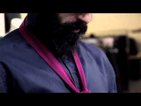 How to Tie a Skinny Necktie : Fashion Forward