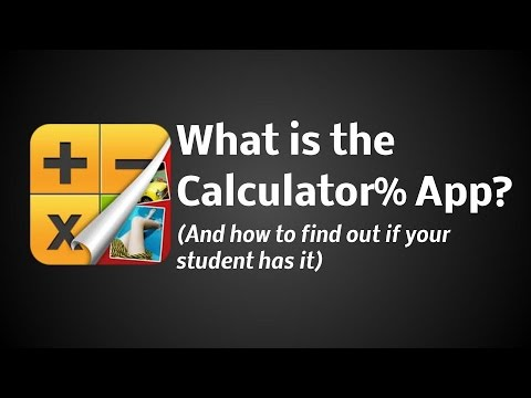Calculator% Photo App - Social Media Safety Guide