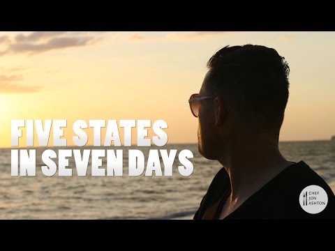Five States in Seven Days - Chef Jon Ashton | Weekly Recap